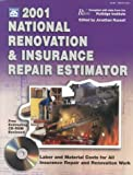 2001 National Renovation and Insurance Repair Estimator, Rutlidge Institute Staff, 1572180978