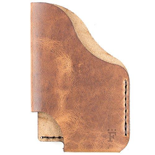 Simplicity Horsefront Form Latte Men's Function Wallet TriSlot Form Form Function gZfUqY