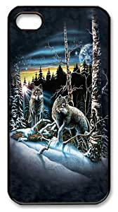 iPhone 4s Case, iPhone 4s Cases -Find 13 Wolves PC Hard Plastic Case for iPhone 4/4S Black by ruishername