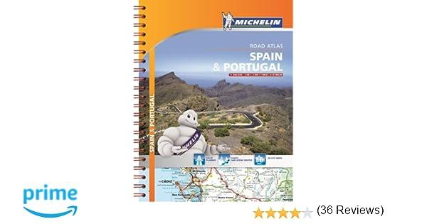 Michelin Spain Portugal Road Atlas Atlas Michelin Michelin - Michelin map portugal 733