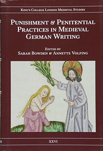 Punishment and Penitential Practices in Medieval German Writing (25)