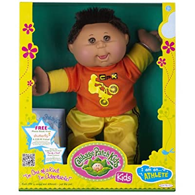Cabbage Patch Kids Doll - Extreme Sports Hispanic Boy Brunette Hair by Cabbage Patch Kids