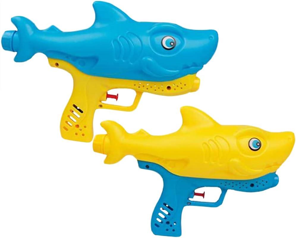 2 PCS Pistola de Agua Niños, Pistola de Agua de Juguete para Playa Juguete Rociador Fiestas de Verano al Aire Libre Infantil para Water War, Playa, Piscina