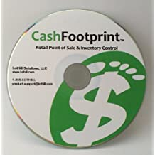 POS Software and Inventory Control, No Monthly Fees, Free Support & Updates - CashFootprint Retail Point of Sale Software by LotHill Solutions - Professional Edition