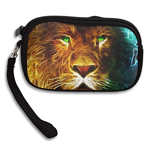 Printing Receiving Deluxe Small Artistic Purse Portable Animal Lion Bag xfwg71SSq