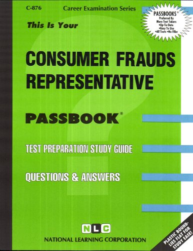 Top recommendation for consumer fraud representative test