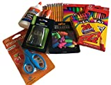 Best Elmer's Crayon Sharpeners - Classroom Supply Pack Bundle -Safety-Edge Scissors, 24 Crayons Review