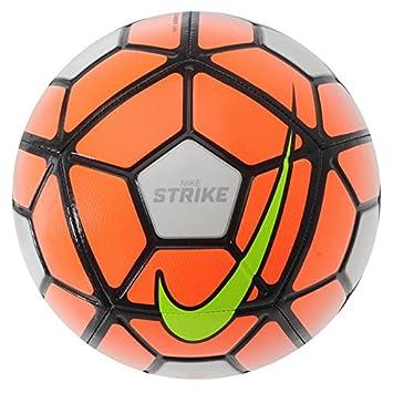 d4891e16ef505 Nike Strike Football - Size 3 - White/Orange: Amazon.co.uk: Sports ...