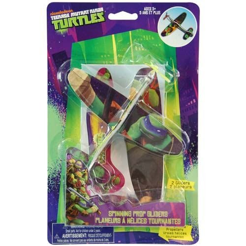 Nickelodeon Teenage Mutant Ninja Turtle Prop Gliders (3 Glider Kits)