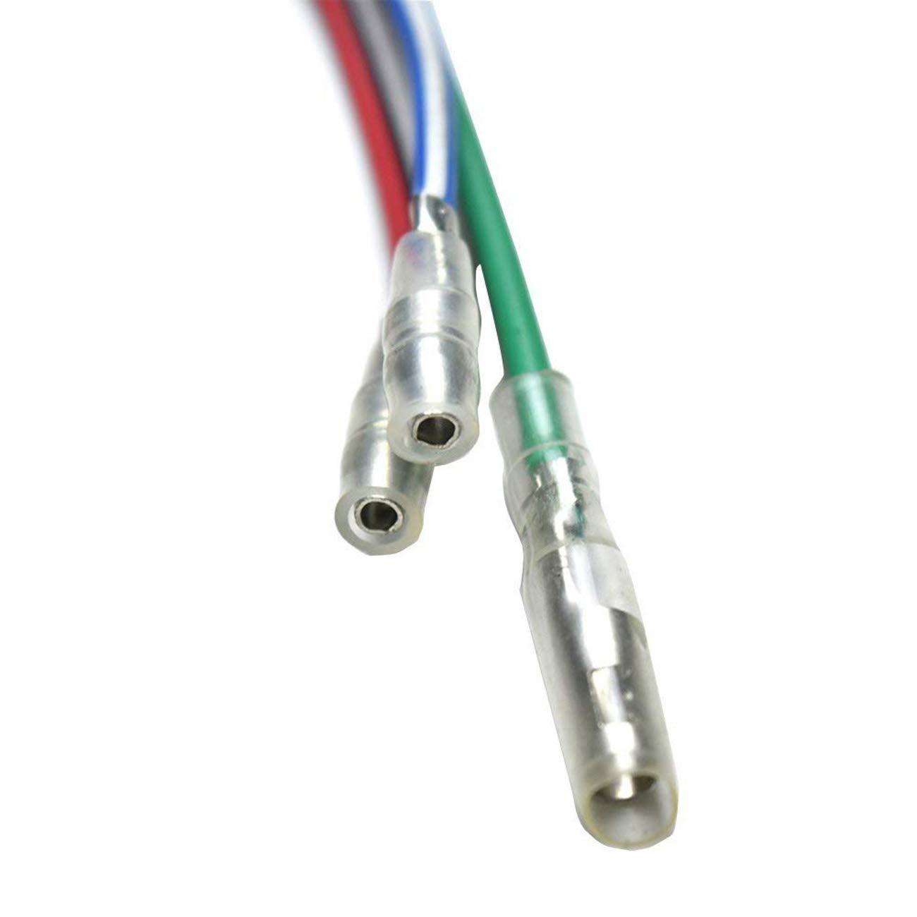 Jcmoto Wire Harness For Kick Start Dirt Pit Bike 49 Wiring Loom Kill Switch 50cc 110cc 125 140 150 160cc 125cc Automotive