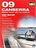 Front cover for the book UBD 2009 Canberra Street Directory by UBD