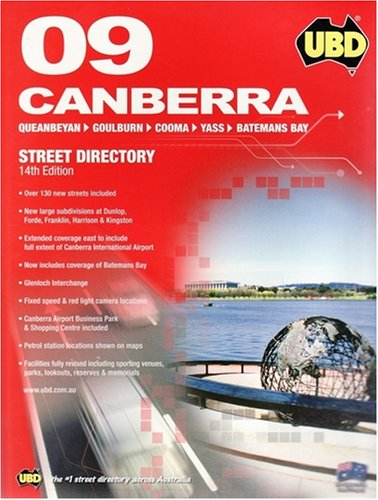 UBD 2009 Canberra Street Directory