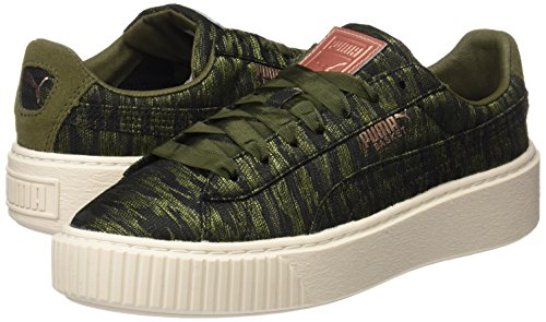 Mode Baskets Puma Khaki Basket Femme Vr Platform ww0F4q