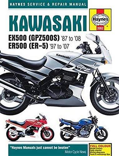 Kawasaki Ex500 Gpz500s 87 To 08 Er500 Er 5 97 To 07 Haynes Service Repair Manual Editors Of Haynes Manuals 9781785212932 Amazon Com Books