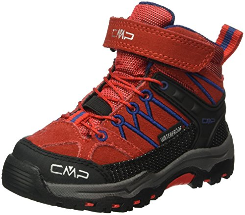 CMP Unisex-Kinder Rigel Trekking-& Wanderstiefel, Rot (Ferrari C580), 36 EU