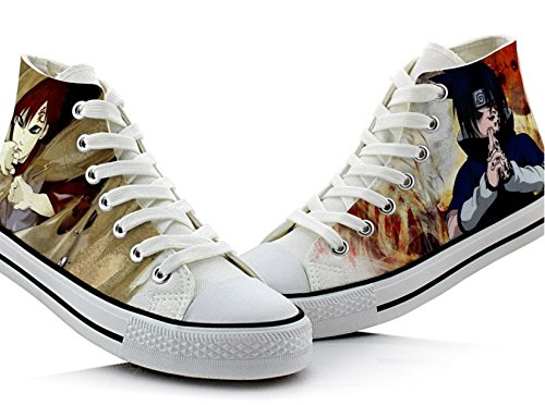 Naruto Anime Uzumaki Naruto Uchiha Sasuke Gaara Cosplay Schuhe Leinwand Schuhe Turnschuhe Bild 1