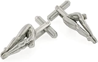 product image for JJ Weston Diver Cufflinks. Made in The USA