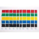 SummitLink® 520 Pcs Assorted Heat Shrink Tube Tubing Wrap Sleeve Set Combo 5 Colors 10 Sizes
