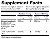 NatureWise Pure Garcinia Cambogia | 100% Natural HCA Extract Supports Weight Loss and Curbs Appetite with Superior Absorption [2 Month Supply - 180 Count]