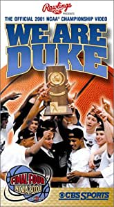 We Are Duke - The Official 2001 NCAA Championship Video [VHS]