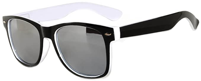 Amazon.com: Diseño Retro de la fiesta anteojos de sol Marco ...