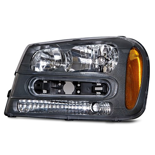 Headlights Depot Replacement for Chevy Trailblazer LT/LS/SS Headlight OE Style Replacement Headlamp Driver Side ()