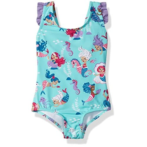 Hatley Ruffle Swimsuit, Maillot Une Pièce Fille