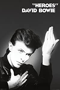 Pyramid America David Bowie Heroes Album Music Cool Wall Decor Art Print Poster 24x36