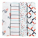 aden + anais Tea Collection and Swaddles, Fish Pond