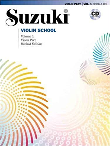 Suzuki Violin School Volume 1 - Revised Edition (Book & CD)