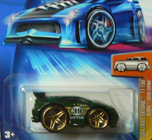 hot-wheels-2004-first-editions-green-blings-lotus-espirit-164-scale-collectible-die-cast-car-model-0