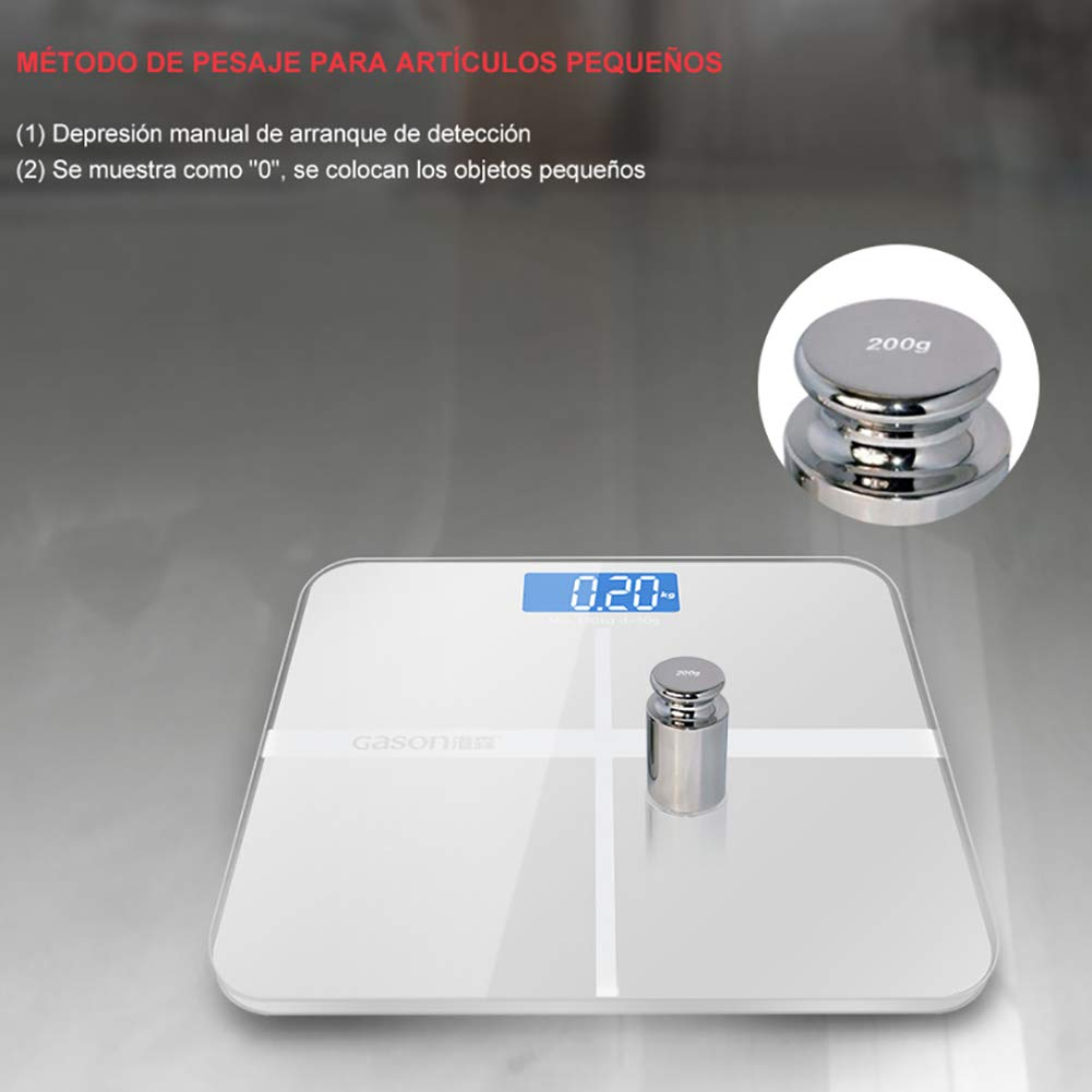 Amazon.com : Dzsntsmgs Smart Display Electronic Weight Scale Household Floor Body Weighing Balance - White : Baby
