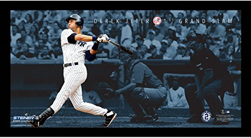 (Derek Jeter Moments: 1st Grand Slam Framed 9.5x19 7331)