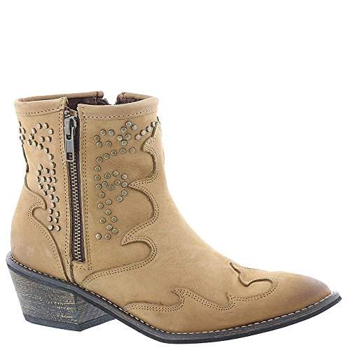Volatile Mellie Closed Fashion Womens Boots Brown Toe Ankle RgTqR
