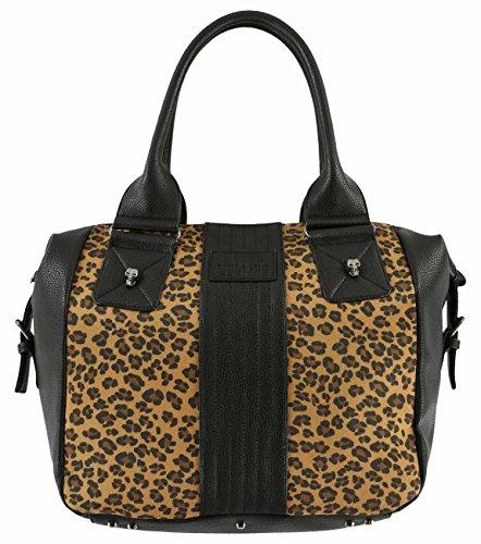 Metal Mulisha Junior's Outlaw Bag, Leopard, One Size