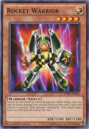 Yu-Gi-Oh! - Rocket Warrior (DPBC-EN023) - Duelist Pack 16: Battle City - 1st Edition - Common by Yu-Gi-Oh!: Amazon.es: Juguetes y juegos