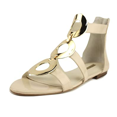 08bfdc061e2 BCBGeneration Faroh Embellished Flat Sandals (9.5 US Women s