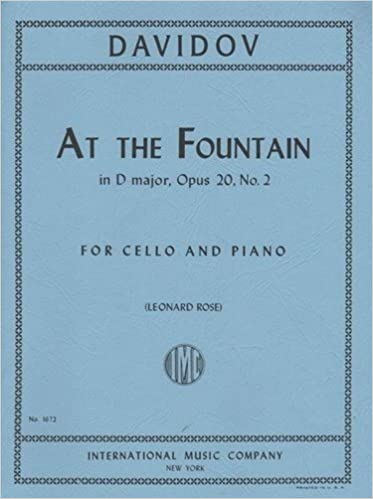 Amazon Davidoff Karl At The Fountain In D Major Op 20 No 2