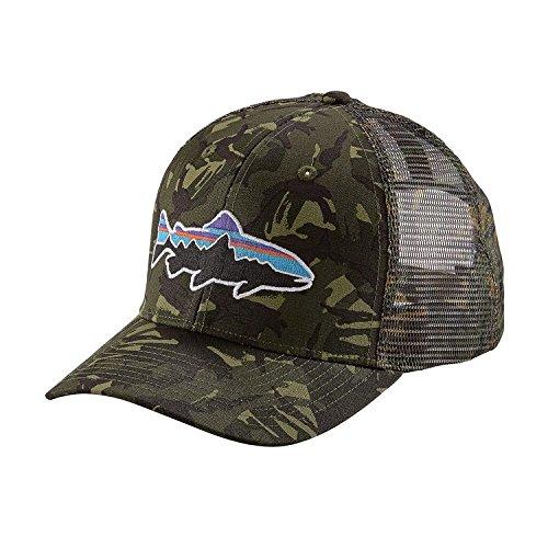 7021a088b77f7 Amazon.com  Patagonia Unisex Fitz Roy Trout Trucker Hat