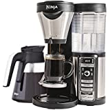 Ninja Coffee Maker for Hot/Iced/Frozen Coffee with 4 Brew Sizes, Programmable Auto-iQ, Milk Frother, 43oz Glass Carafe, and Tumbler (CF080Z)