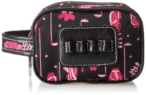 Sydney Love Fuchsia Golf Ladies Caddy Bag Cosmetic Case,Multi,One Size by Sydney Love (Image #1)