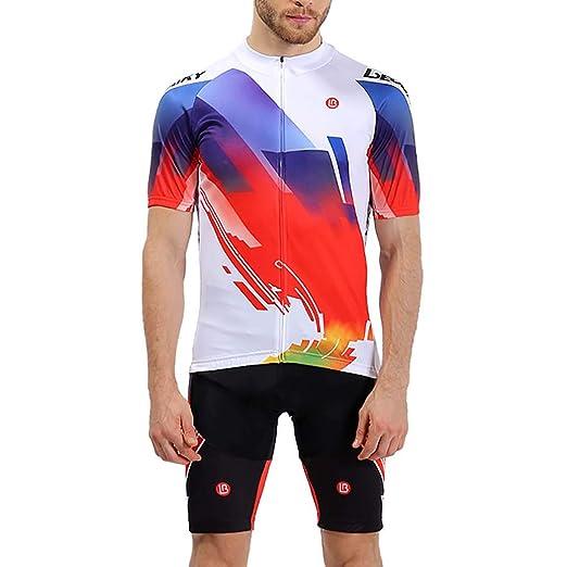 LEOBAIKY Pantalones Cortos de Ciclista, Chaqueta de Ciclismo para ...