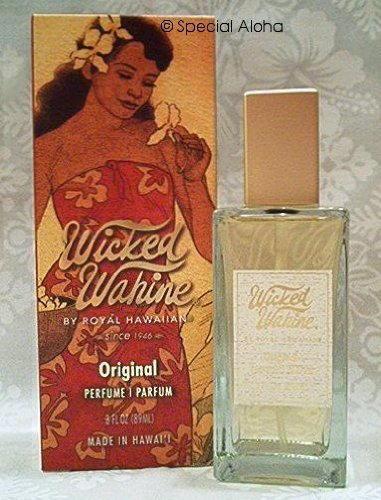 Wicked Wahine Perfume 3 fl. oz. - The Original - Perfume Jasmine Night Blooming