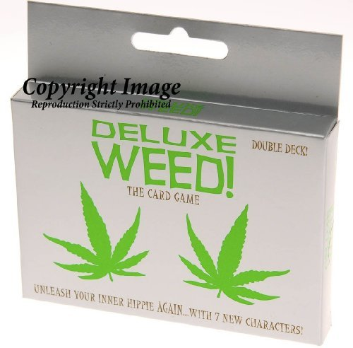 Deluxe Card Game (Deluxe Weed Card Game - Double Deck)