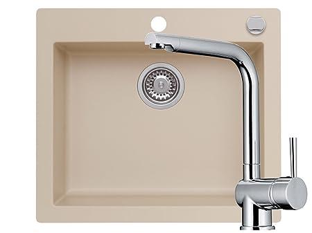Magnificent Recessed Miami 60S Kitchen Sink Granite Sink Taps Drive 1 Interior Design Ideas Apansoteloinfo