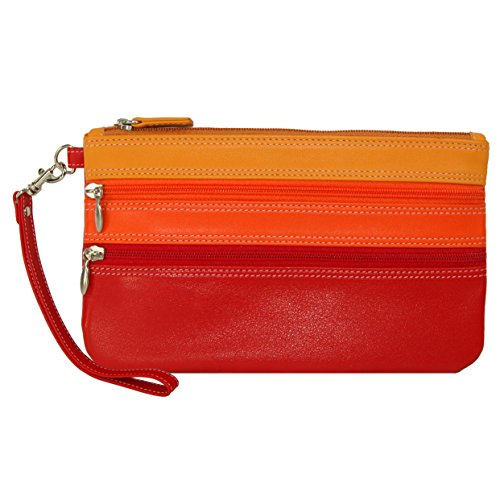 belarno-medium-trizip-multi-color-clutch-in-black-rainbow-combination-red