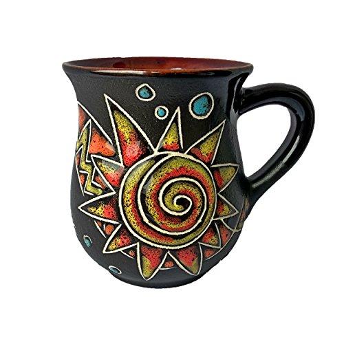 - Handmade Coffee Mugs Pottery Mugs Perfect Gift Mug For Mom Dad Women Men Girlfriend Boyfriend Unique Coffee Mugs – Esoteric (10 fl oz, 300 ml) – Cupscho