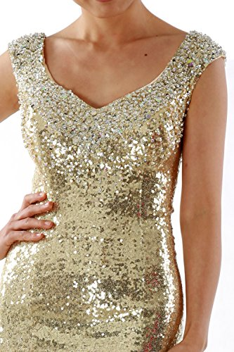 Women Party Prom Wedding Sequin Gown Long Evening Lavendel Dress Mermaid MACloth Formal Rzqdg7R