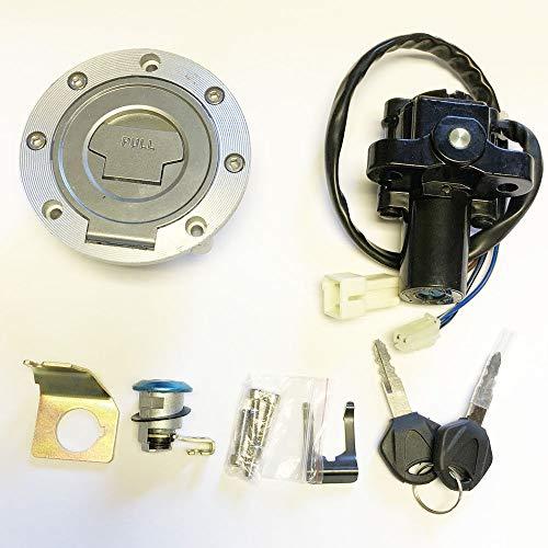 Ignition Switch Lock Fuel Gas Cap Key Set For Yamaha FZ6R FZ8 YZF R1 YZF R6