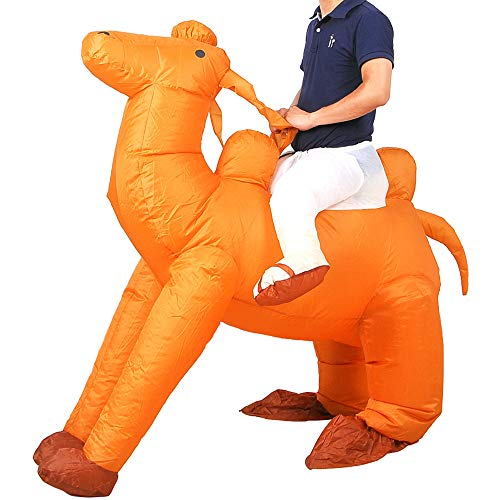 Camel Riding Costumes - Inflatable Camel Costume Adutls Ride On